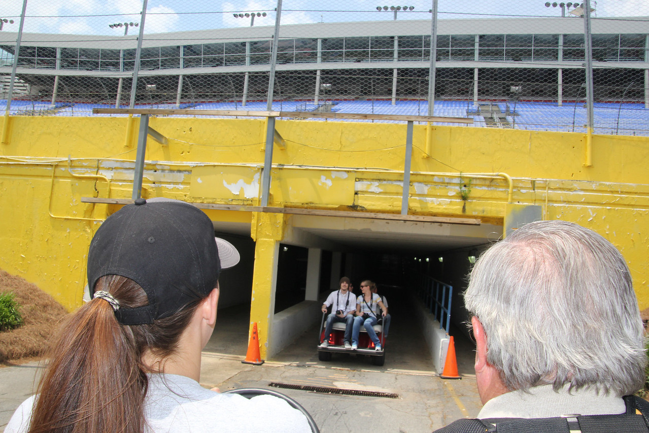 this is the old tunnel under turn 4.