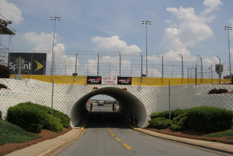 The new tunnel under turn 3