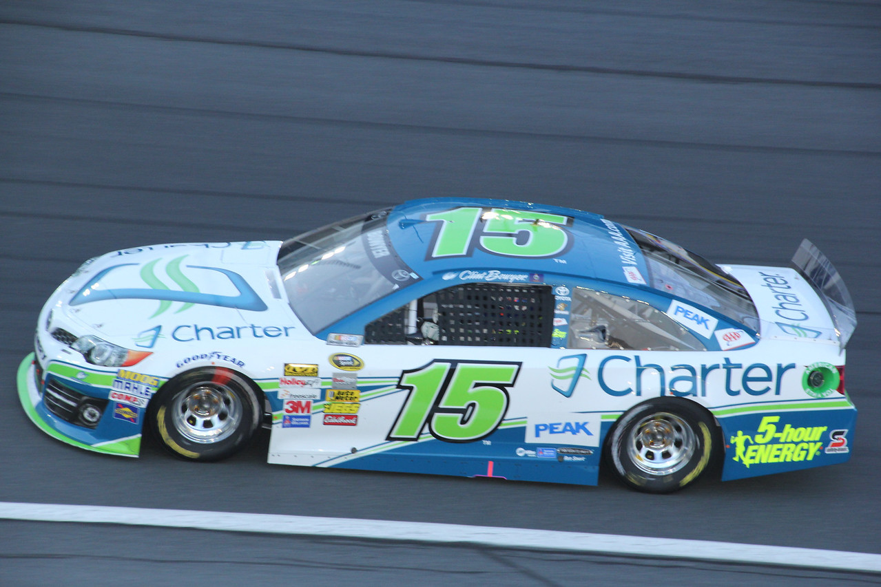 Clint Bowyer will win tonight's race and move on to the AllStar race tomorrow