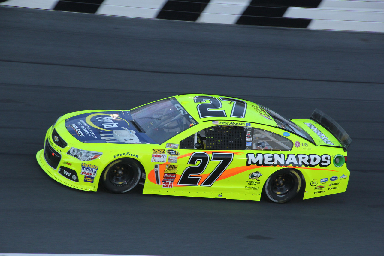 """the Bosses Son"" Paul Menard"