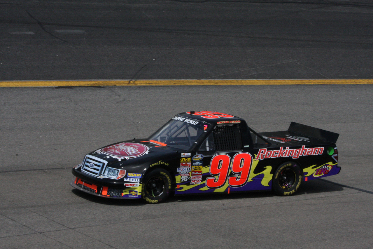 Bryan Silas brought the Rockingham car in at 23rd