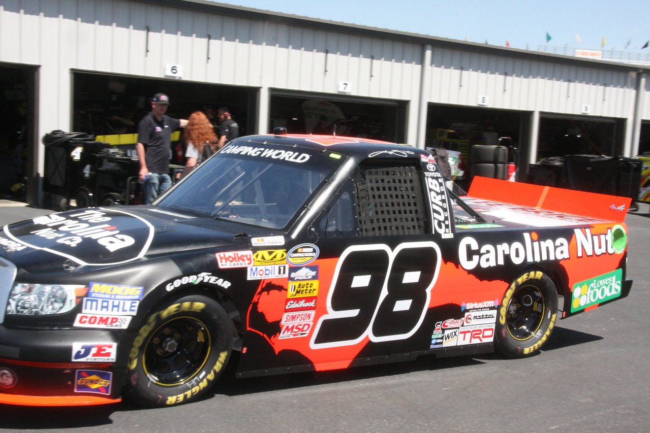 #98 Johnny Sauter was 4th