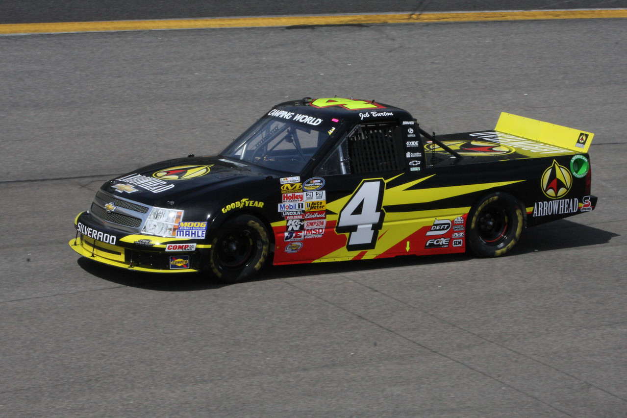 Jeb Burton is having a great start and could be the truck champion.