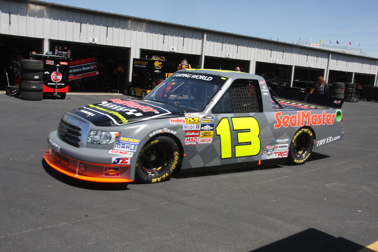 #13 Todd Bodine finished 32nd