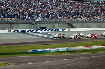 Kentucky Speedway July 7 by Roger Faulkner