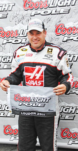Ryan Newman pole winner