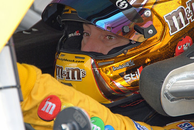 Kyle Busch in the car