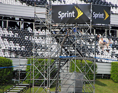 pocono temporary flag stand