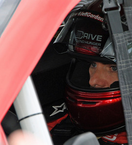 Jeff Gordon in the Car
