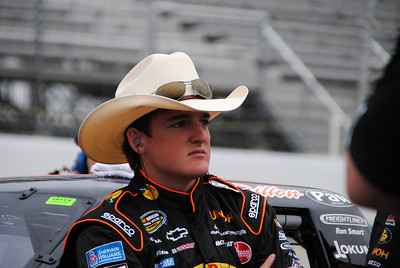 Ty Dillon Before qualifying