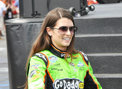 Danica Patrick at Driver intros