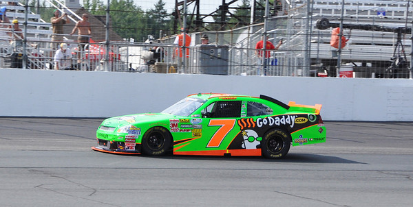 Danica early in race