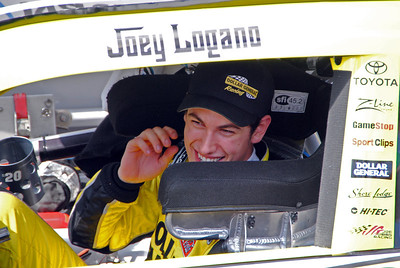 Joey Logano wins Nationwide race Dover