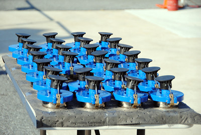 Sunoco Fuel caps Pre race