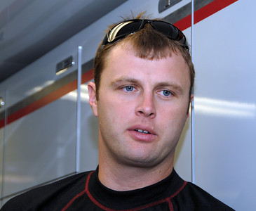 Travis Kvapil in hauler