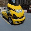 Dave Hainault's minion car.