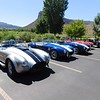Shelby Cobra replicas at Gateway museum.