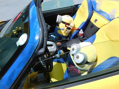 Dave Hainault's minion car.