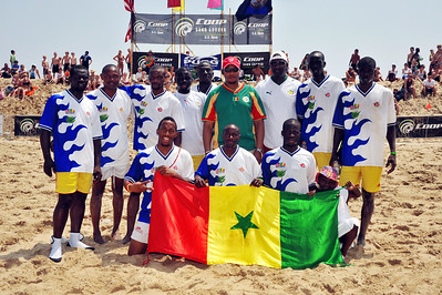 Beach Foot Association; Dakar, Senegal