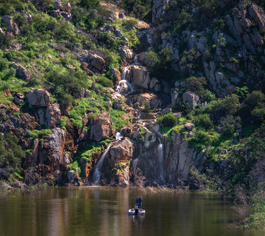 Winter Waterfall, San Dieguito Waterpark
