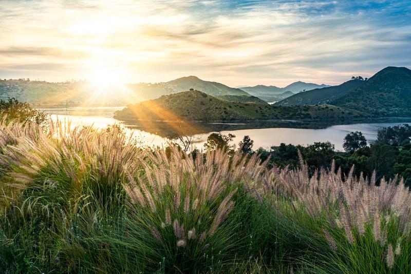 Lake Hodges Sunrise