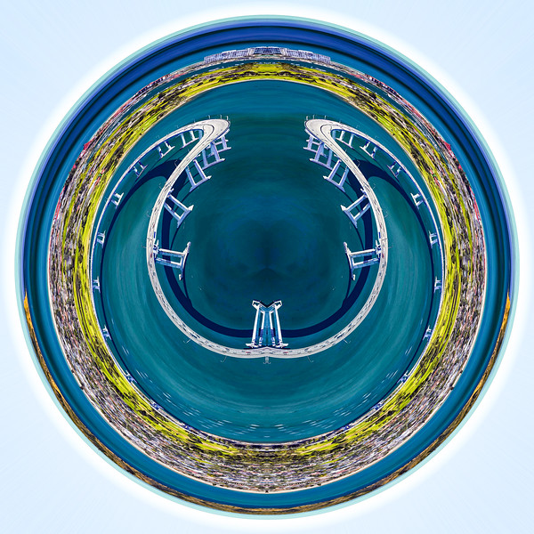 Digital Art, Coronado, Google Earth