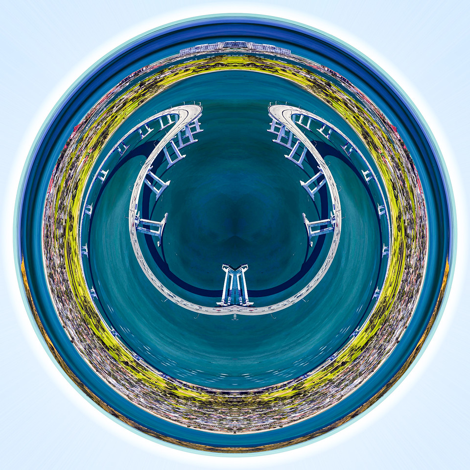 Digital Art, Coronado, Google Earth