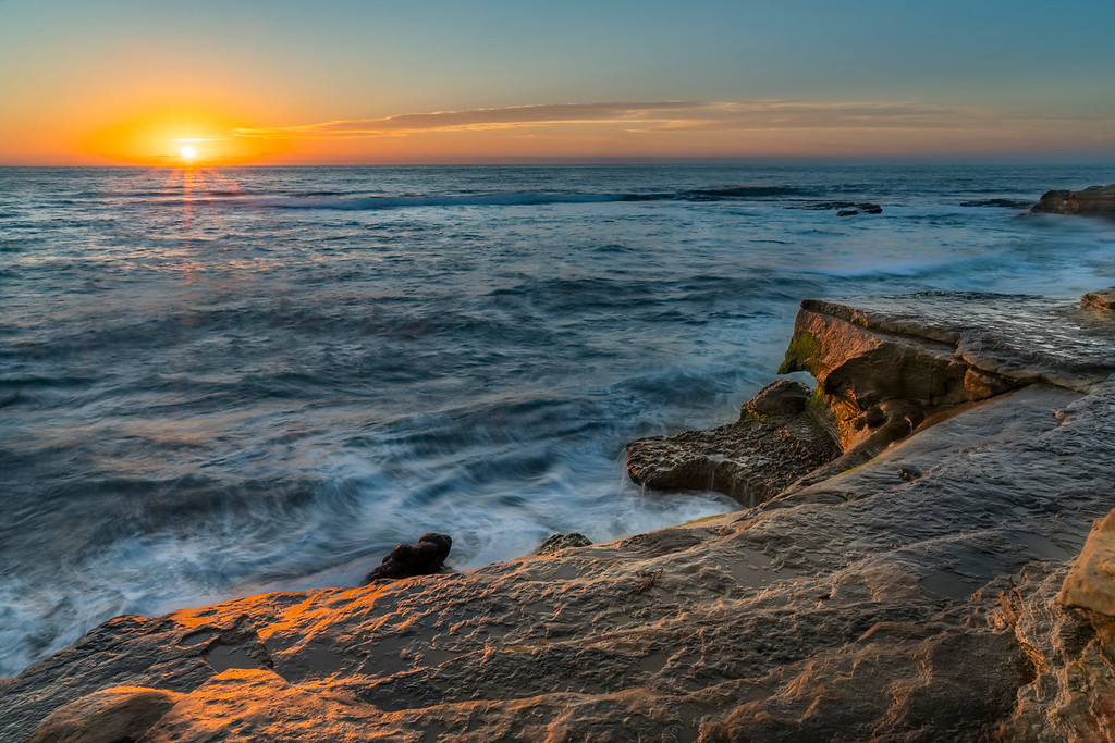 Sunset, La Jolla Reefs