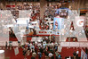 Companies exhibit their products at the 2009 NATA Trade Show in San Antonio, Texas. Photo by RenŽée Fernandes/NATA..