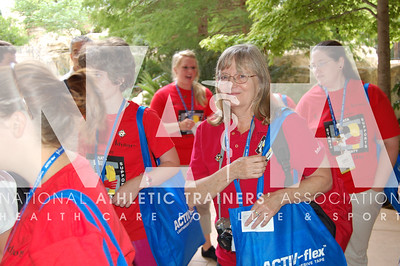 Sandy Ward, EDAC Career Day Photo by Valerie Hunt/NATA