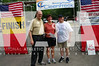 Foundation Director John Oliver, CAE, CFRE, first place (over 50) finisher M.S. Grothmann and CleenFreek President Scott Seabaugh. <br /> Photo by Valerie Hunt/NATA
