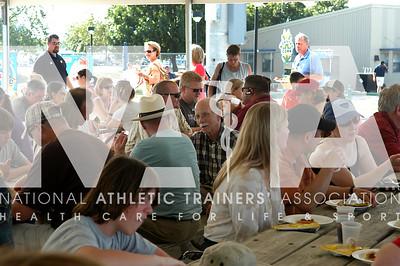 NATA members enjoy food and fun at the NATA Foundation Night/San Antonio MIssions Baseball Game. Photo by RenéŽe Fernandes/NATA.