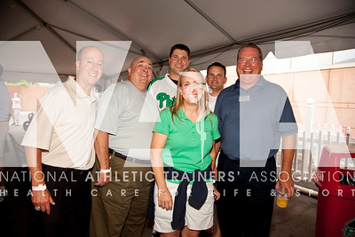 NATA members enjoy a night out with the Foundation at the Phillies game. Photo by Steve Boyle