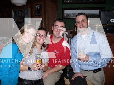 Capitol Hill Day participants squeezed in some social time at the NATAPAC fundraiser. Photo by Jordan Bostic/NATA