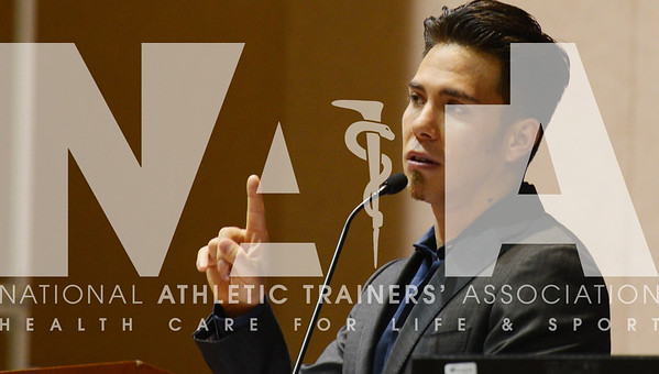 Apolo Ohno Speaks to NATA Members & Students