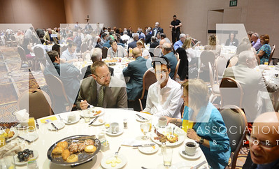 credit: Renée Fernandes It was a sell-out crowd Tuesday for NATAPAC breakfast .