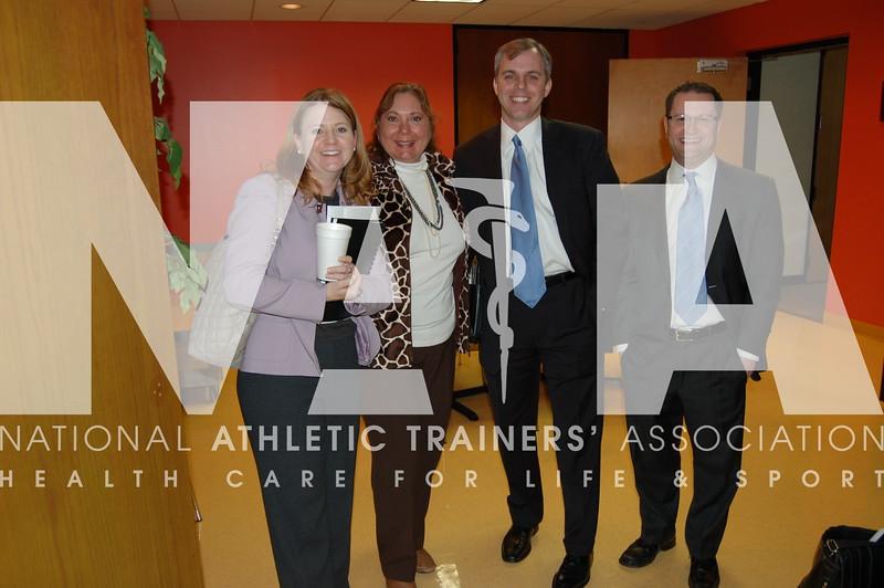 NATA's Federal Legislative Team: Amy Callender, Cate Brennan, Jim Twaddle and Brian Altman<br /> Photo by Valerie Hunt/NATA