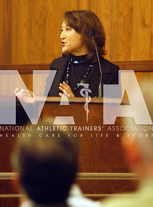 California Assembly Member Mary Hayashi addresses the crowd during the youth sports safety summit in Sacramento. photo by Renee Fernandes