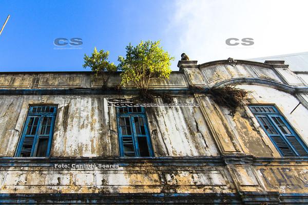 Prédio em ruinas
