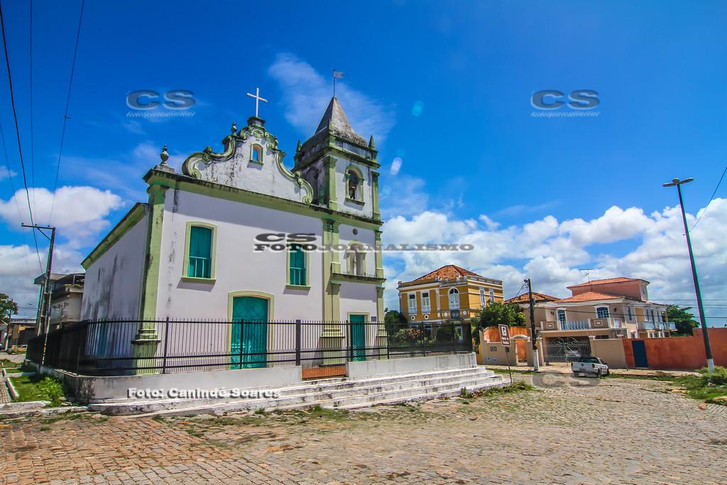 A Igreja de Nossa Senhora do Rosário dos Pretos.