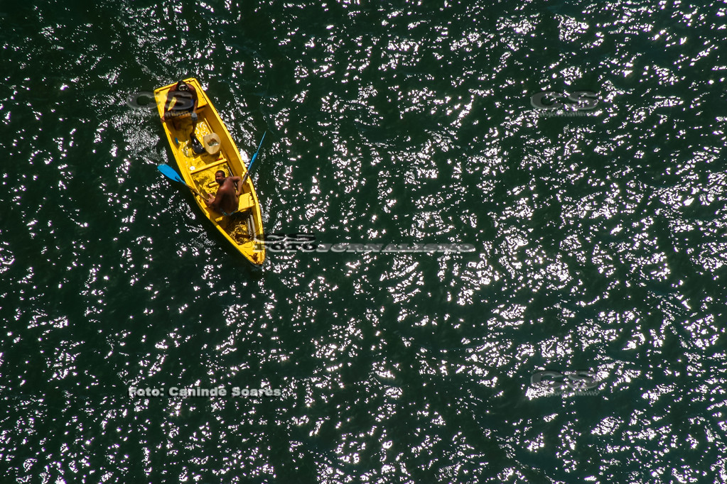 Canoa no Rio Potengi