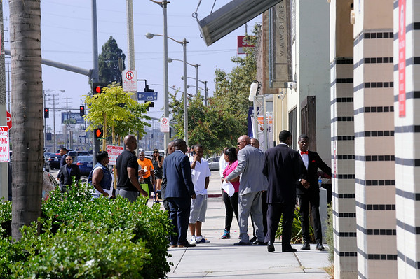 NATION OF ISLAM/ HUNT US NOT TODAY UNITED HOODS AND GANGS NATION MEET AT THE CHURCH OF SCIENTOLOGY ON SUNDAY JULY 17, 2016 PHOTOS BY VALERIE GOODLOE