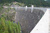 THE HUNGRY HORSE DAM ON THE FLATHEAD RIVER