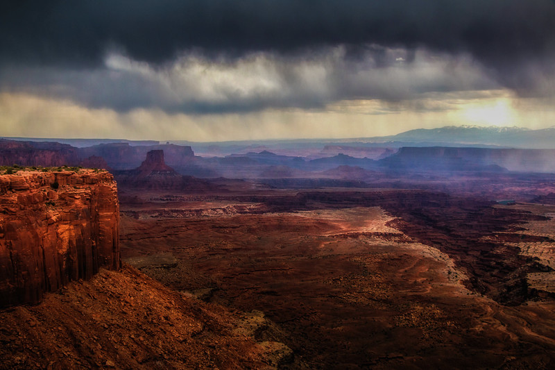 INCOMING STORM, Canyonlands NP