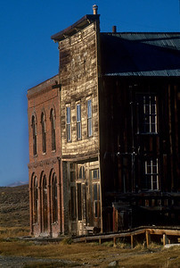 Bodie is a ghost town and many of the old buildings are said to be haunted.