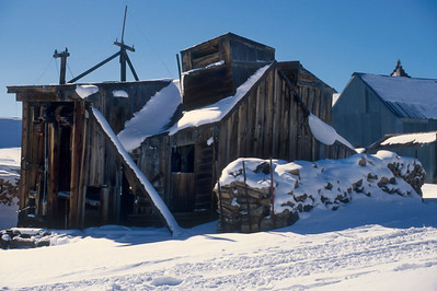 The sawmill in town was one of the busy places.  Bodie is above the tree line and big logs were hauled into town where they were sold and cut up for construction or firewood to power the stamp mill or other steam powered machinery.