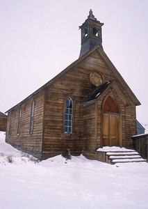 The Methodist Church was first built in 1882 and was one of the two churches in town.