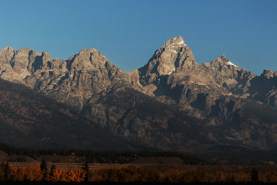Teton Mountain Range, Grand Teton N.P.