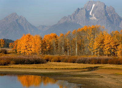The Oxbow Bend on the Snake River