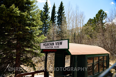 MOUNTAIN VIEW STOP ON COG RAILWAY
